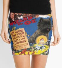 Cairn Terrier Art - The Wizard of Oz Movie Poster Mini Skirt