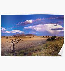 The Desert at Dusk Poster