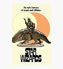STAR WIZARDS Photographic Print