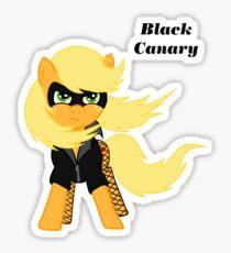 AJ Black Canary Sticker