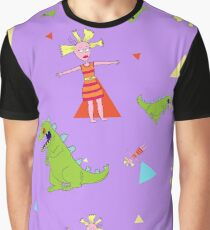 Reptar & Cynthia Graphic T-Shirt