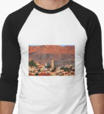 In the Glow of the Morning Men's Baseball ¾ T-Shirt