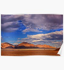 Rolling Clouds Blanket the Sky Poster