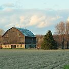 some barn in the distance by deville