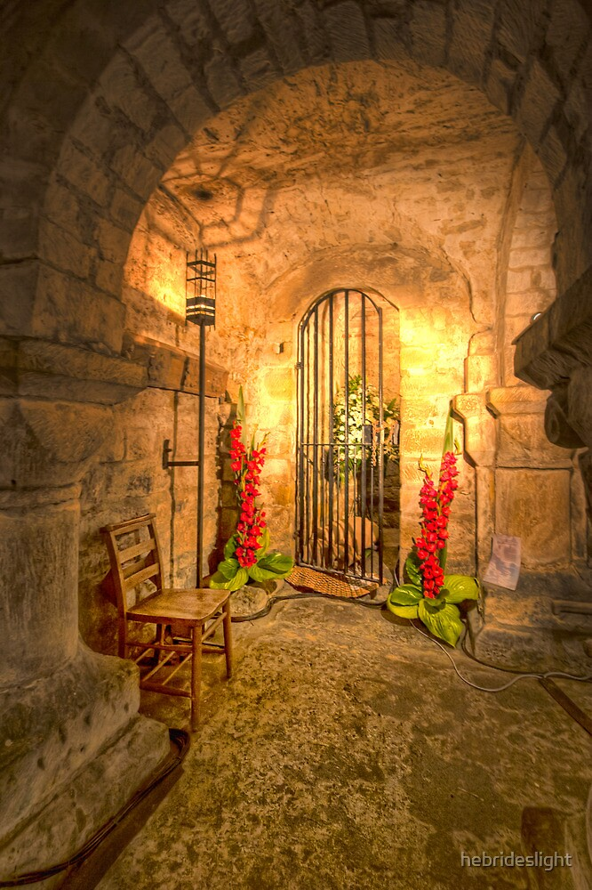 Flowers in the Crypt by hebrideslight