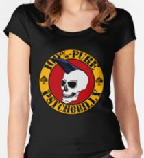 Pure Psychobilly Women's Fitted Scoop T-Shirt