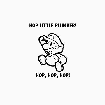 Mario hop, hop, hop! by jayman1998