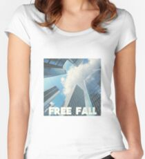 FREE FALL Women's Fitted Scoop T-Shirt