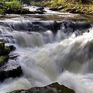 Watersmeet Waterfall by George Cox