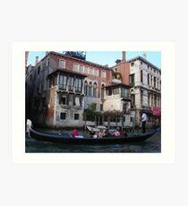 A HOUSE IN VENICE - Italy - Europa - 2500 visualizzaz.Maggio 2013- Featured in Italia 500+-VETRINA RB EXPLORE 7 MAGGIO 2012 --- Art Print