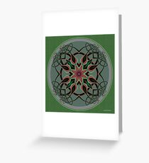 Celtic Mandala II Greeting Card