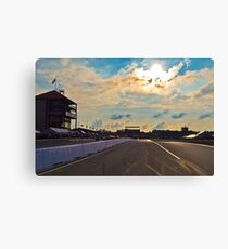 Mid Ohio Race Track Canvas Print