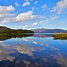 Cloudy Derwent Water by Reinhardt