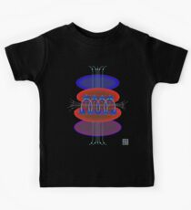 """Magnetic Flux - RED""© Kids Tee"