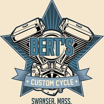 Bert's Custom Cycle by willijay