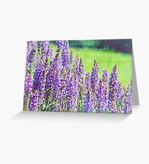 It is spring, again - greeting card Greeting Card