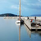 Yacht in Albany by Eve Parry