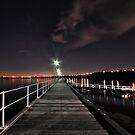 Black Rock Pier by Peter Hammer