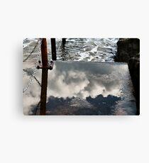 Where The Sea Meets The Sky Canvas Print