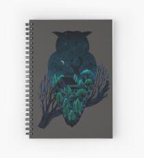 Owlscape Spiral Notebook
