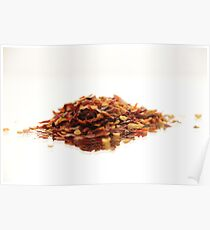 Chillie Flakes Poster