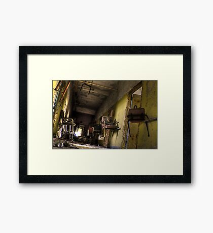 which way is what?? Framed Print