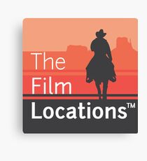The Film Locations Canvas Print