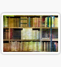Antique Books Sticker