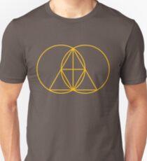 Glitch Mob - Invert Gold Unisex T-Shirt