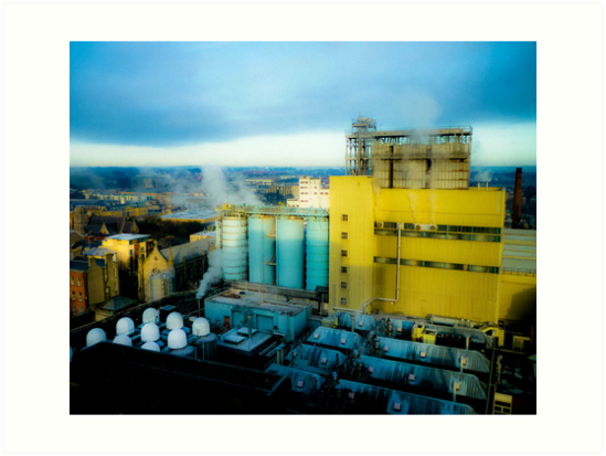 Industrial Dublin Ireland by Mark Tisdale