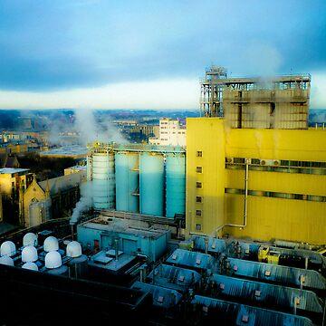 Industrial Dublin Ireland by marksda1