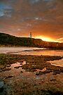Sunrise over Split Point Lighthouse (2) by Christine Smith