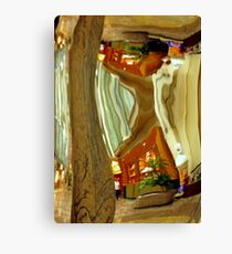 Deformed reality Canvas Print