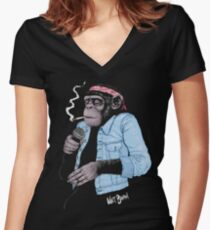 Wet Chimp Women's Fitted V-Neck T-Shirt