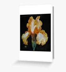 Spotlight Iris Greeting Card