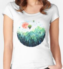 Roundscape Women's Fitted Scoop T-Shirt