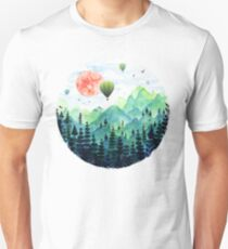 Camiseta unisex Roundscape