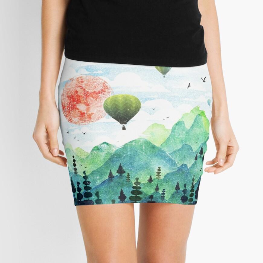 Roundscape Mini Skirt