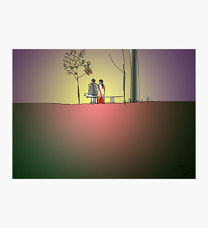 Indian Lovers 2 Photographic Print