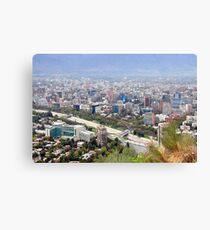 Chile, Santiago, Canvas Print