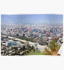Chile, Santiago, Poster