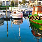 Double Image/Reflections of three by Poete100