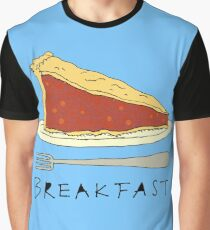Pie for Breakfast Graphic T-Shirt