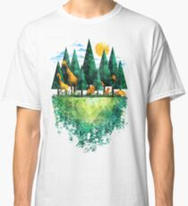 Geo Forest Classic T-Shirt
