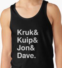 Kruk& Kuip& Jon& Dave. Tank Top