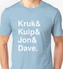 Kruk& Kuip& Jon& Dave. T-Shirt