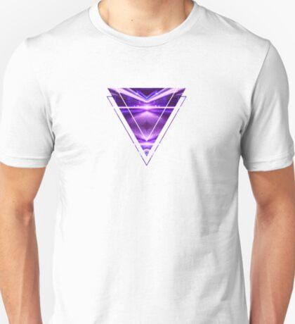 Geometric Street Night Light (HDR Photo Art) Purple T-Shirt