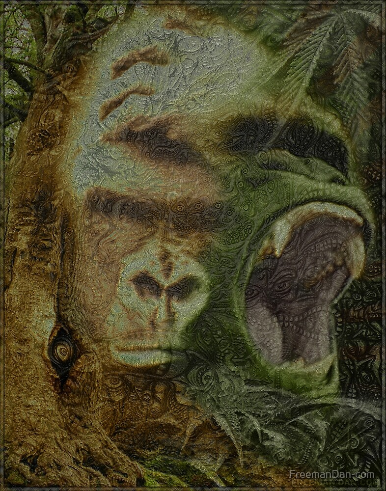 Shiny Gorillas Facepage by FreemanDan by FreemanDan-com