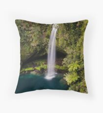 Omanawa Falls Throw Pillow