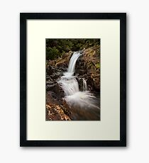 Kaiate upper falls Framed Print